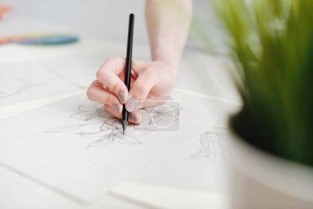 手绘用铅笔