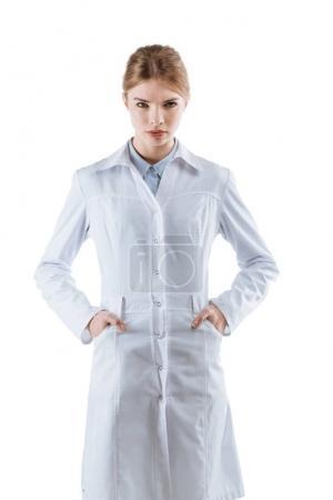 化学家在白大衣