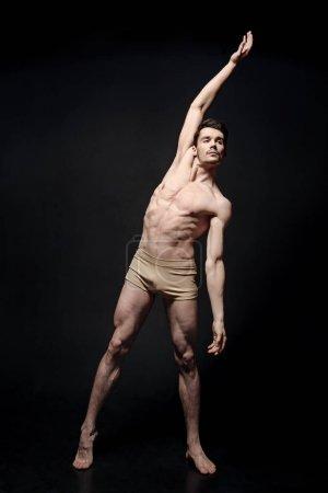 天赋的舞蹈家伸展