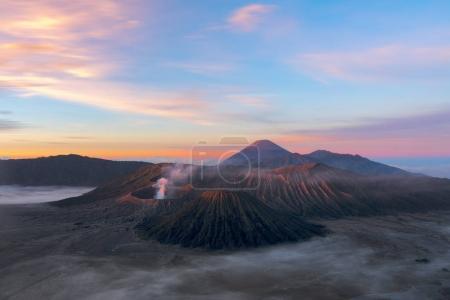 火山的溴国家公园,印度尼西亚爪哇。第二个 e