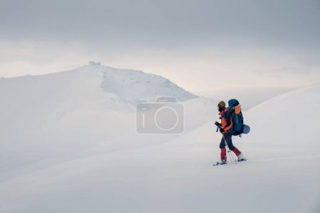 Feel freedom and enjoy beautiful winter mountains
