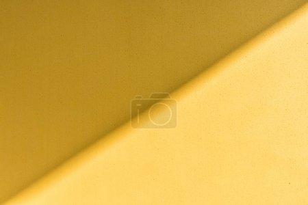 黄色背景, 黄色泡沫纸纹理与阴影