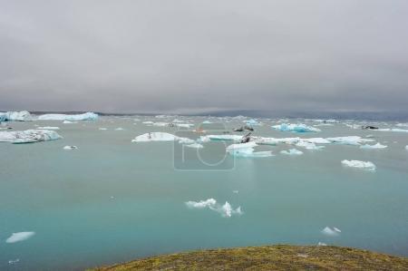 冰岛冰川融化,全球变暖