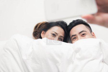亚洲的年轻夫妇